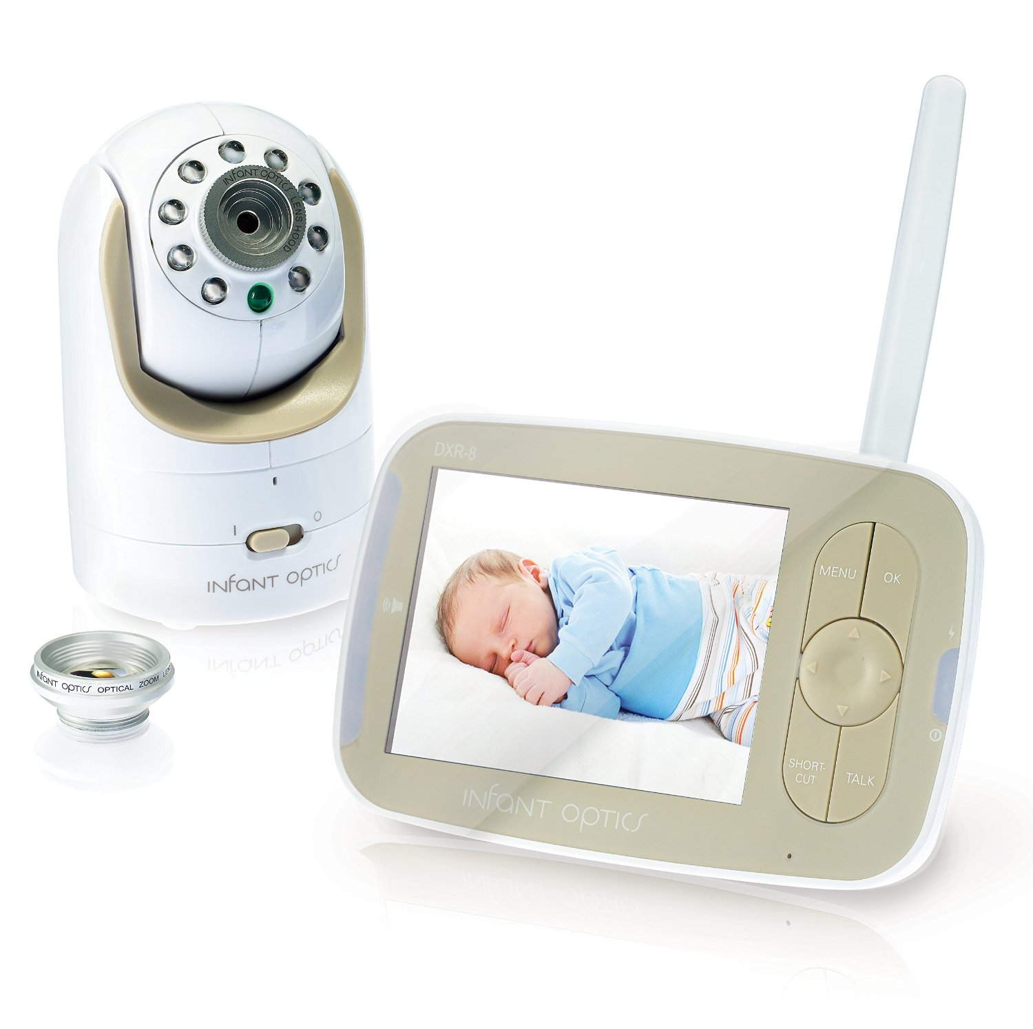 Infant Optics DXR-8 Long Distance Baby Monitor best long range baby video monitor