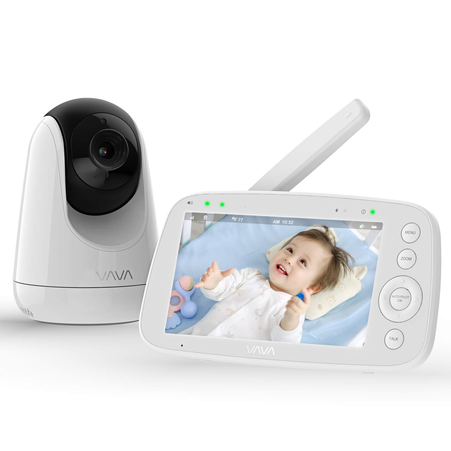 VAVA wi fi baby monitor long range baby monitor best long range baby video monitor
