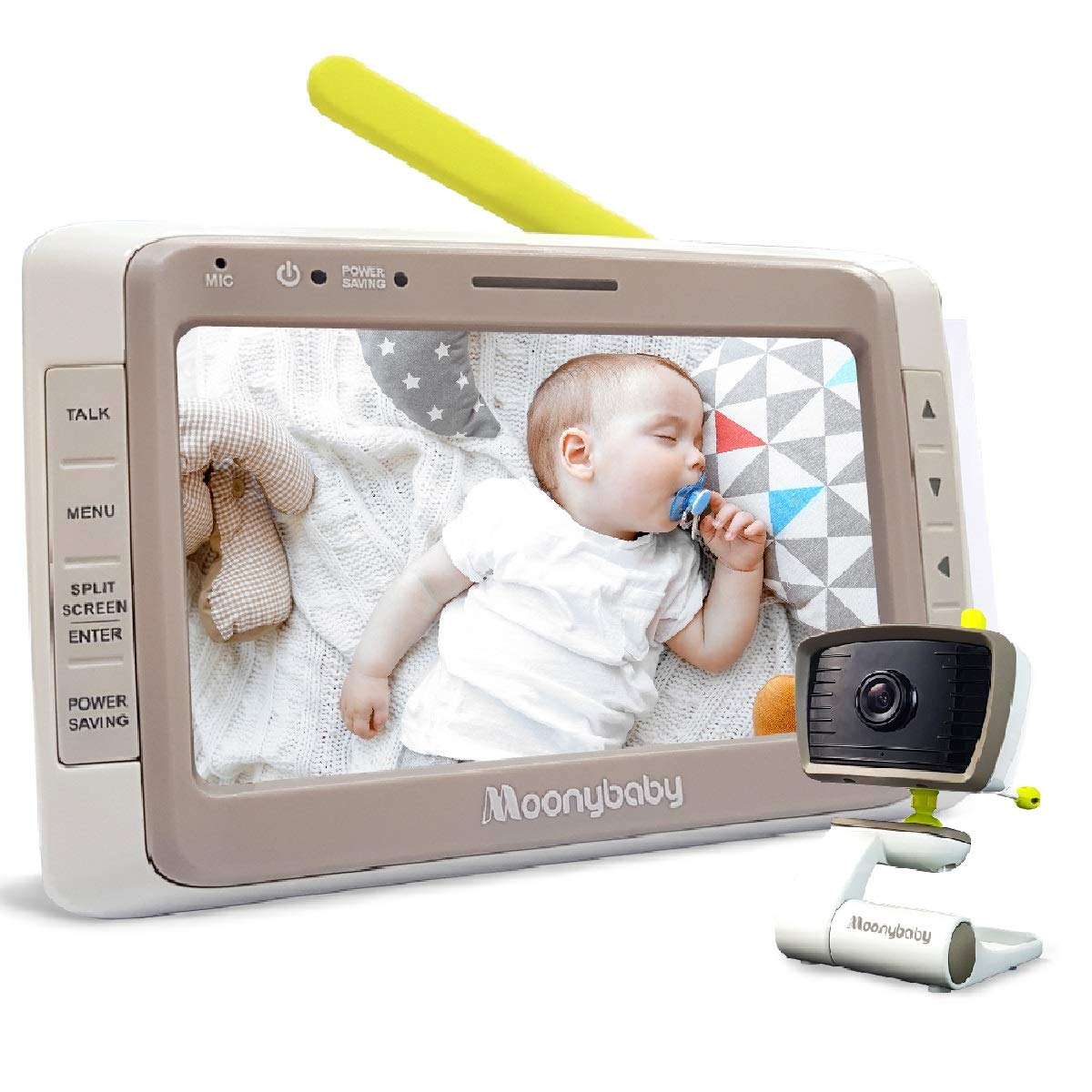 moonbaby wideview best video baby monitor parent unit best home battery range